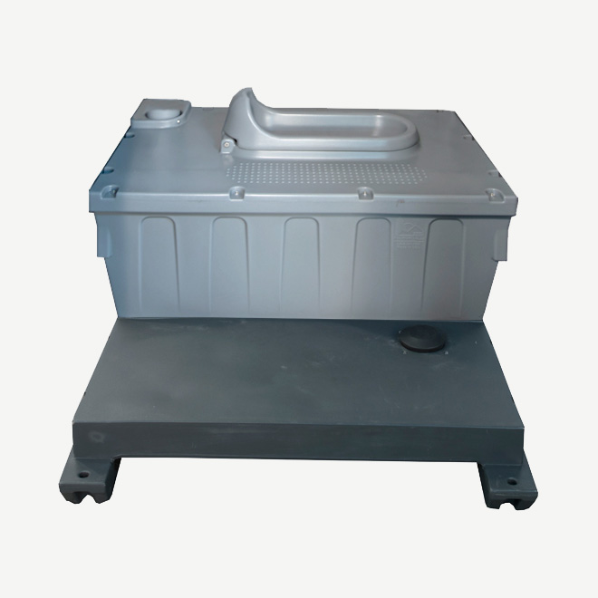 polyportables eastern squatting tank for portable toilet